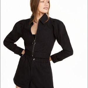 Danielle Bernstein Zip Up Jacket